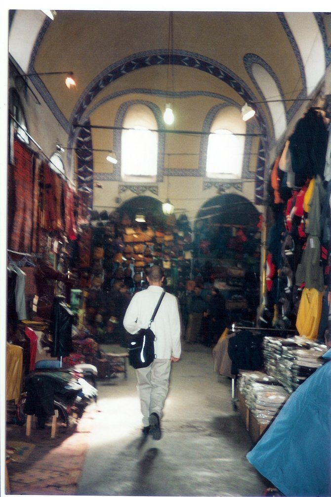 The Grand Bazaar in Istanbul is the largest and oldest bazaar with 1,200 shops which attract between 250,000 and 400,000 visitors daily.