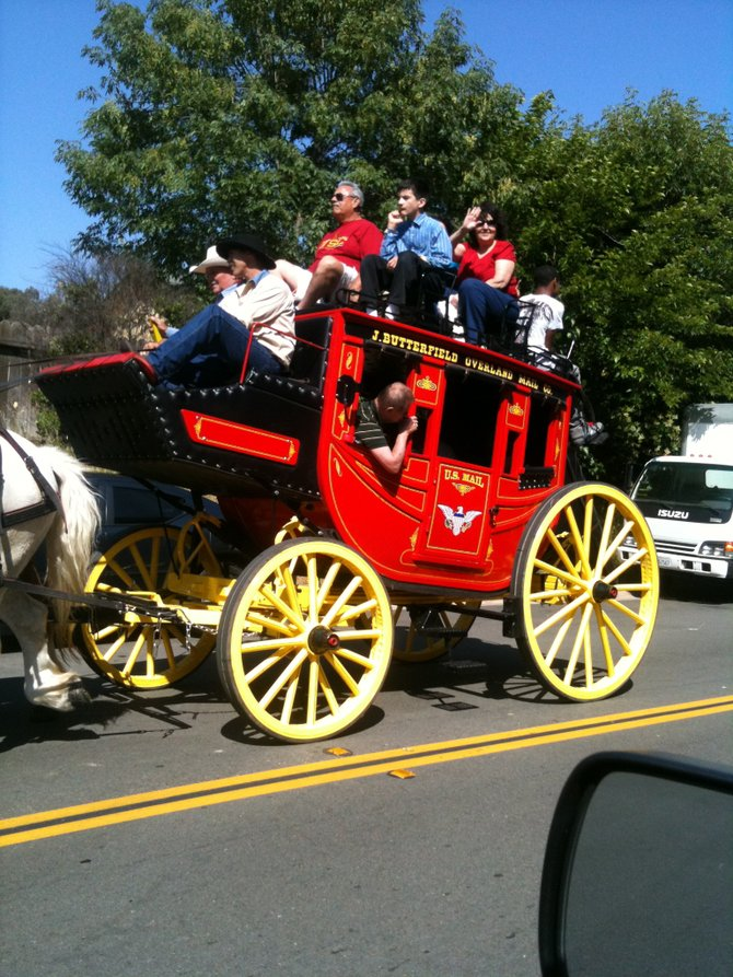 The Butterfield Stagecoach, Temecula, CA