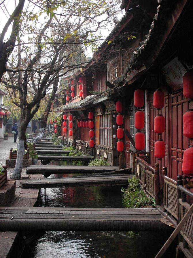 Lijiang in Yunnan province.