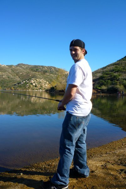 Fishing Lake Poway