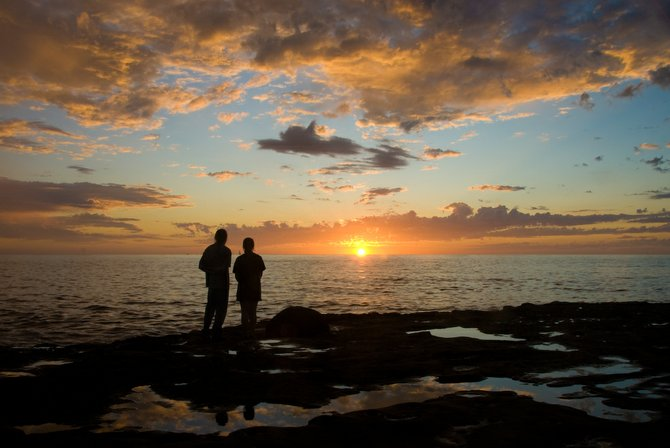 Couple @ Sunset Cliff