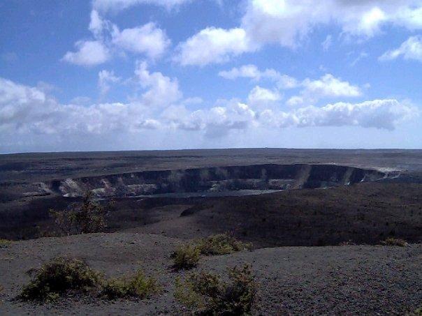 Volcano park in Big Island, Hawaii