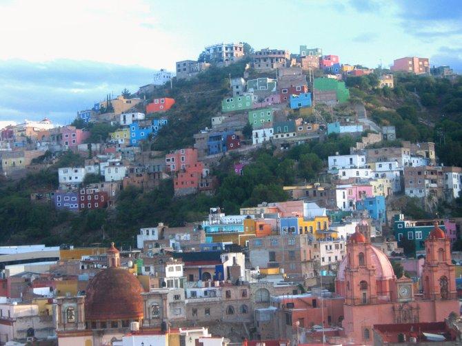 Colorful and beautiful Guanajuato,Mexico.