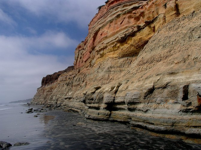 The Colors of Torrey Pines State Beach