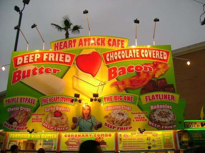 Heart Attack Cafe at the SD Fair