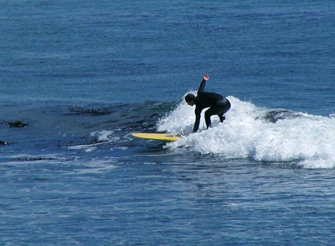 Surf City, USA: Santa Cruz Surfer, California