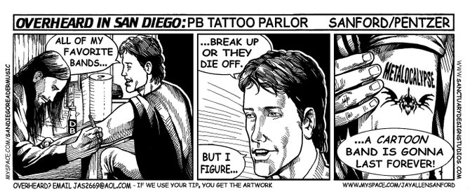 P.B. tattoo parlor