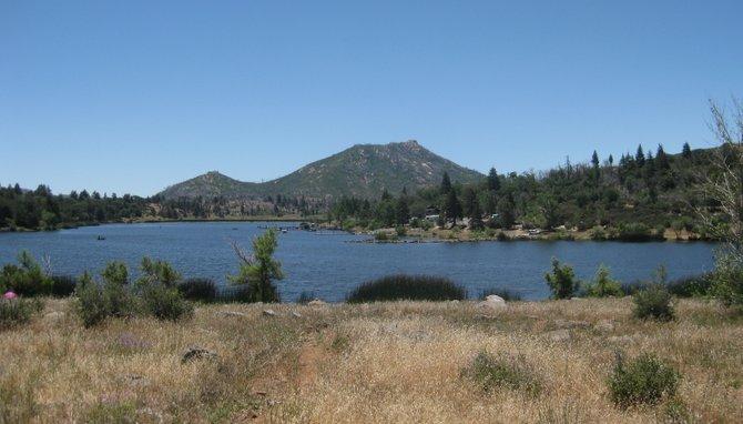 Summer Day at Cuyamaca Lake.