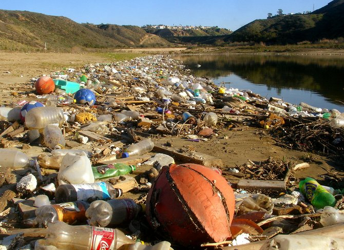 Drainage from Tijuana