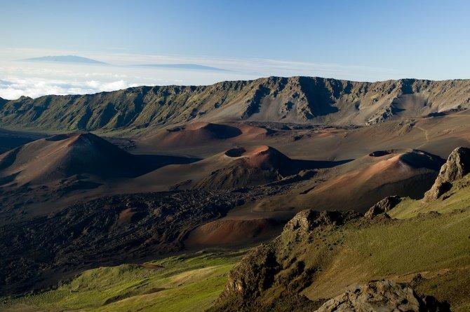 Maui Haleakala crater
