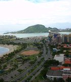 Picture of Vitoria capital of Espirito Santo (Brazil). In the background is the second largest ...