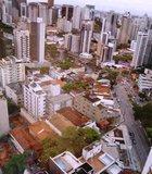 Top view of the city of Vitoria, Espirito Santo (Brazil)
