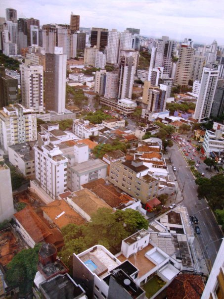 Top view of the city of Vitoria, Espirito Santo (Brazil)