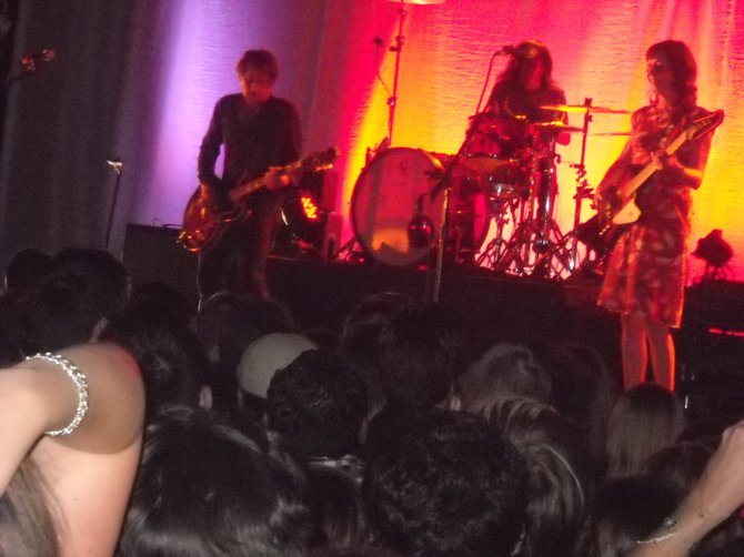 Wonderful Silversun Pickups band at SOMA, August 7.