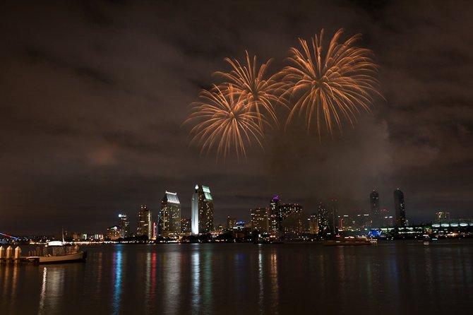 Fireworks after Summer Pops