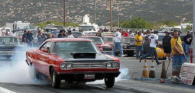 10-4-09 @ Barona Drag Strip