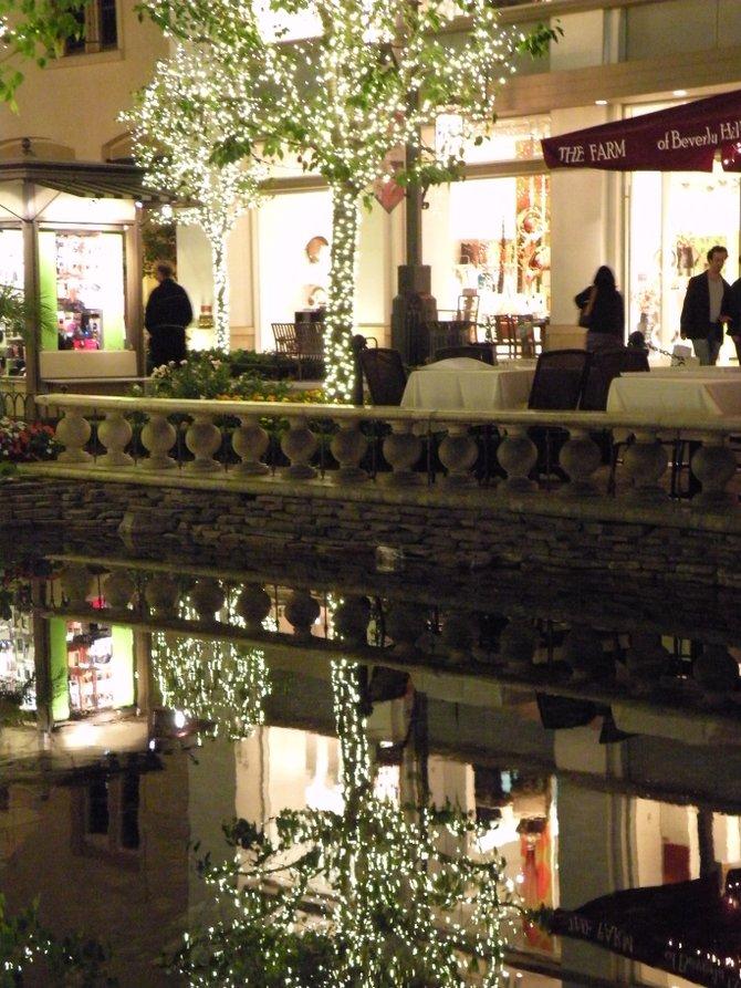 The Grove Shopping Center.