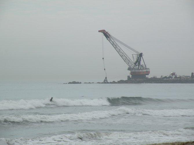 The remodeling of Ocean Beach.