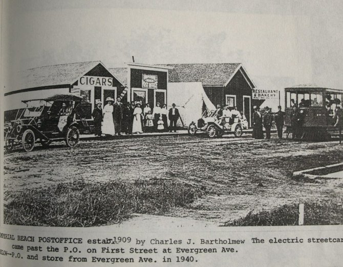 imperial beach post office 1909