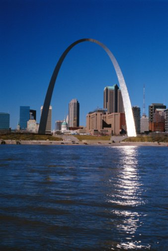 Gateway Arch in St Louis, Missouri
