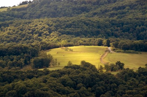 rolling hills of west virginia