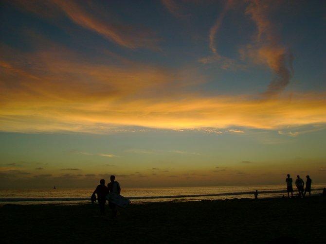 loving watching sunsets!