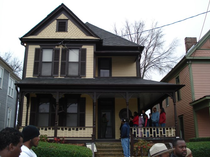 Martin Luther King Jr.'s home