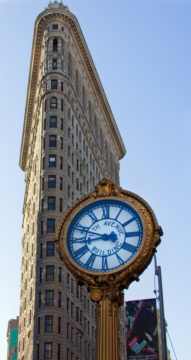 Flatiron Building in NYC.