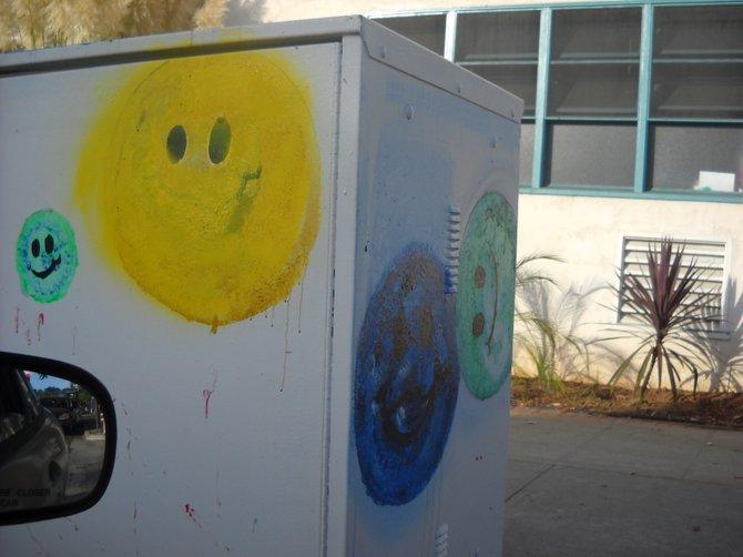 Innocent-looking utility box art!