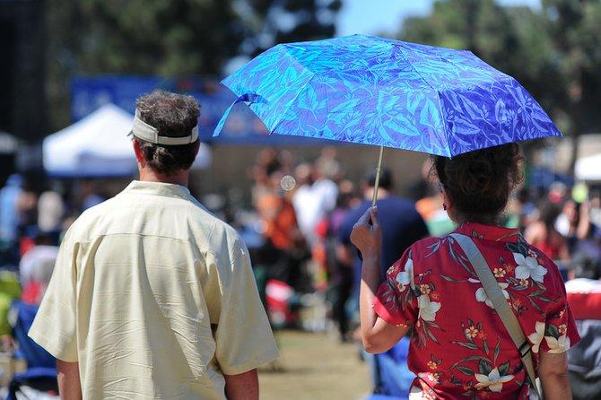 Couple @ Pacific Islander Festival