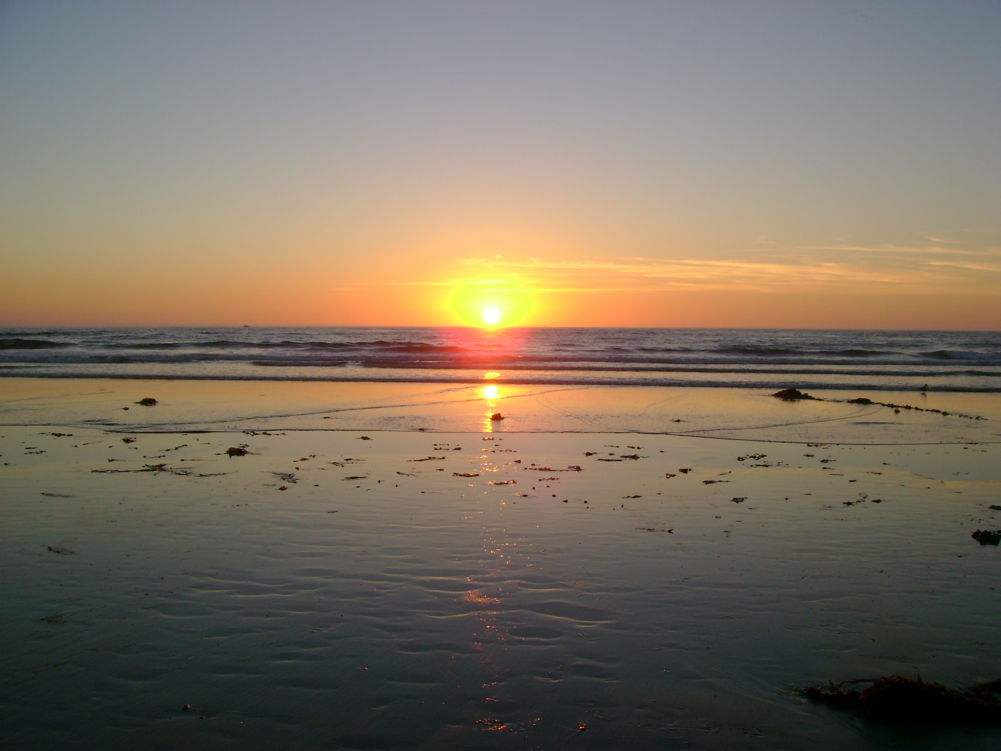 Sunset at Mission Beach