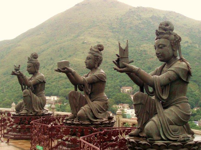 Hear no evil, see no evil, (Lantau Island, Hong Kong)