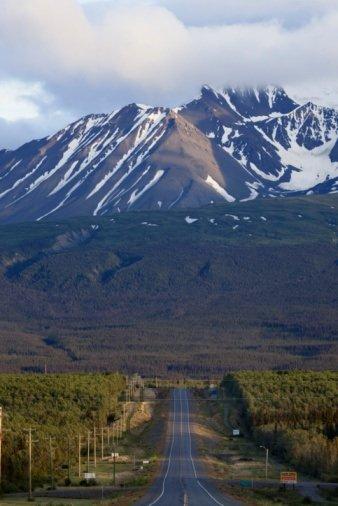 Alaska Highway and Kluane National Park