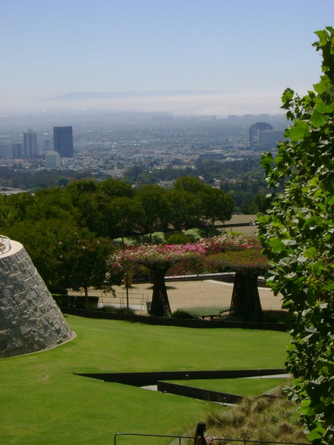 The Getty Museum Garden
