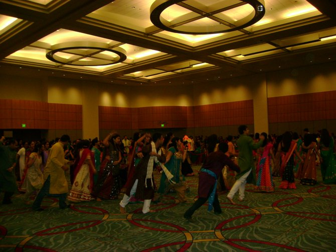 Gujarati Association Garba at San Diego Convention Center.