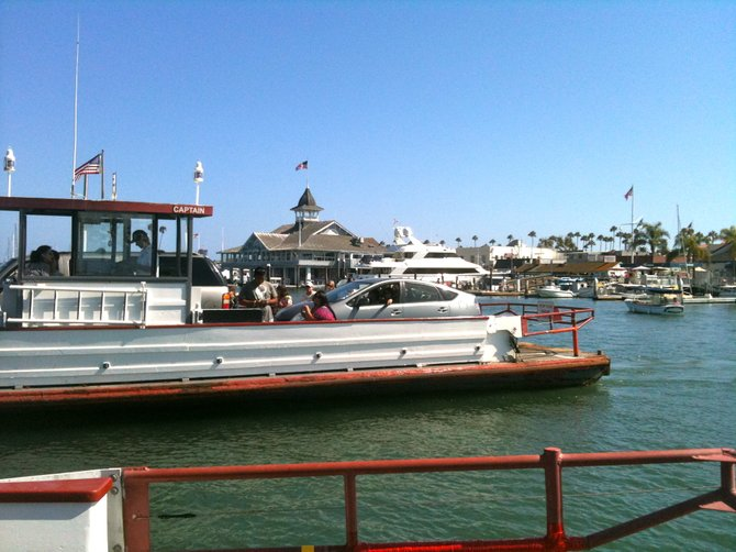 Car Ferry: Balboa Island, CA