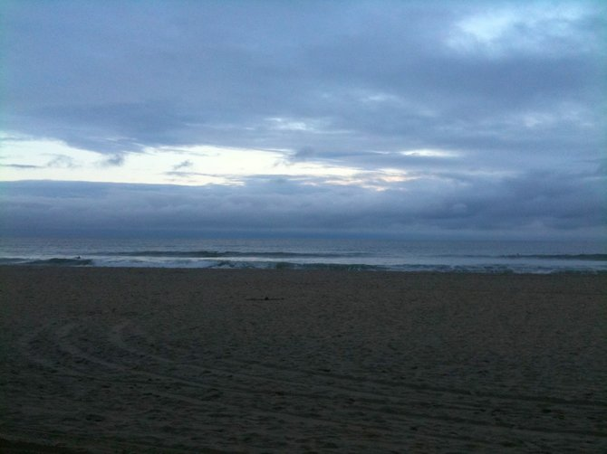 Dawn in Pacific Beach