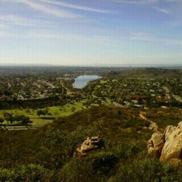 Outstanding view of Cowles Mountain