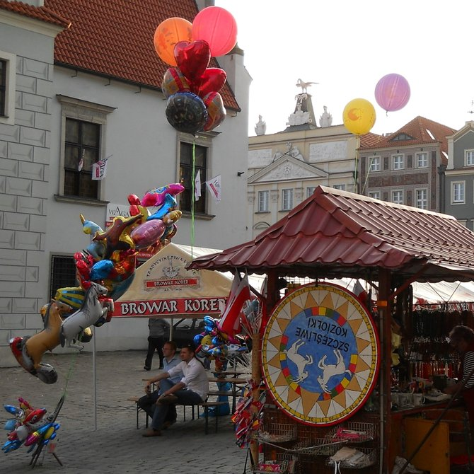 AD 1424 Koreb Beer and Souvenirs in Poznan (with effigies of billy-goats butting each other)