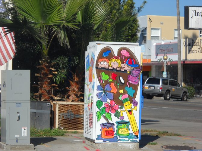 Newport and Cable corner art.