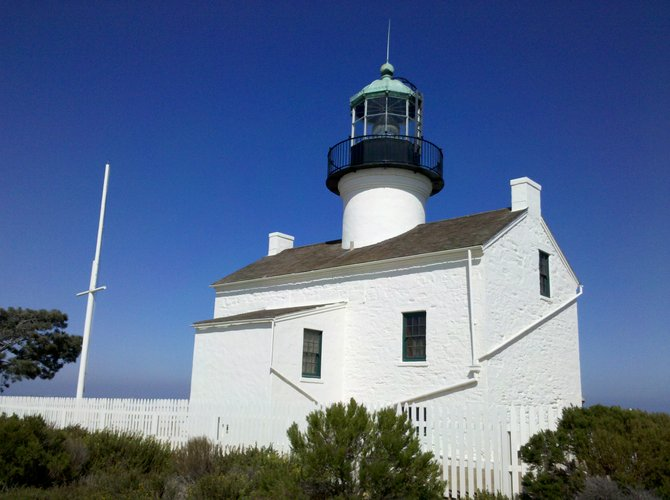 Old Point Loma lighthouse.