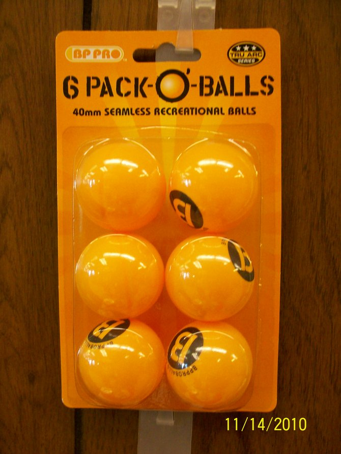 Find a 6-pack of balls at Sabatini's in Point Loma.