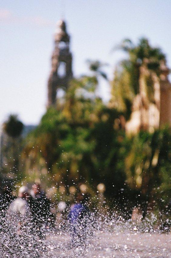 Balboa Park Fountain.