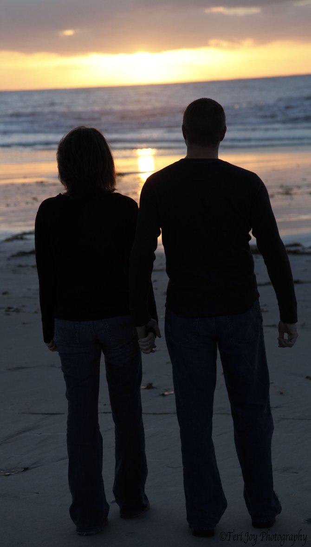 Walk at Sunset....