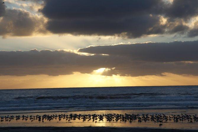 Sunset South Carlsbad Beach.