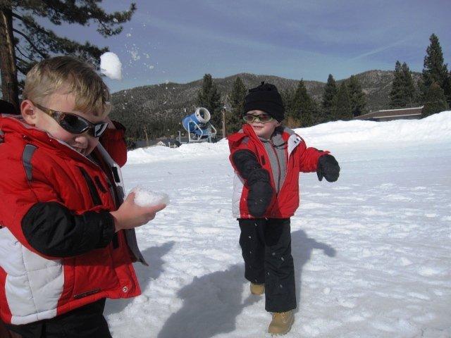 Big Bear Lake.  Wait for it....