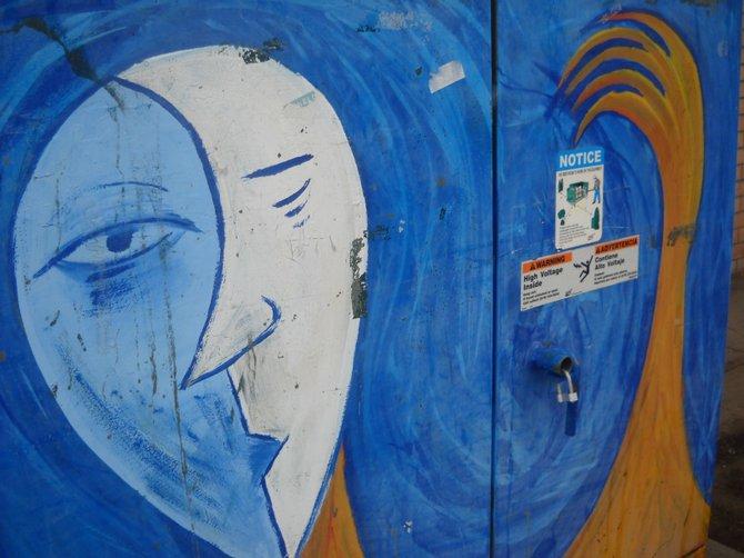 Utility box art Hillcrest.