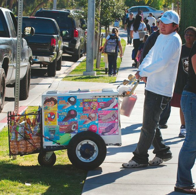 Palateras' pushcarts, a part of Mexican culture, will be required to obtain health permits and business licenses in the U.S.