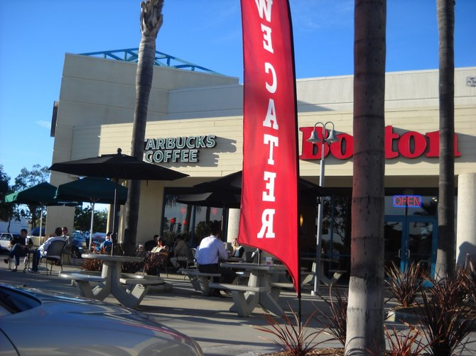 Popular retail combination on the corner of Balboa and Genessee in Clairemont.