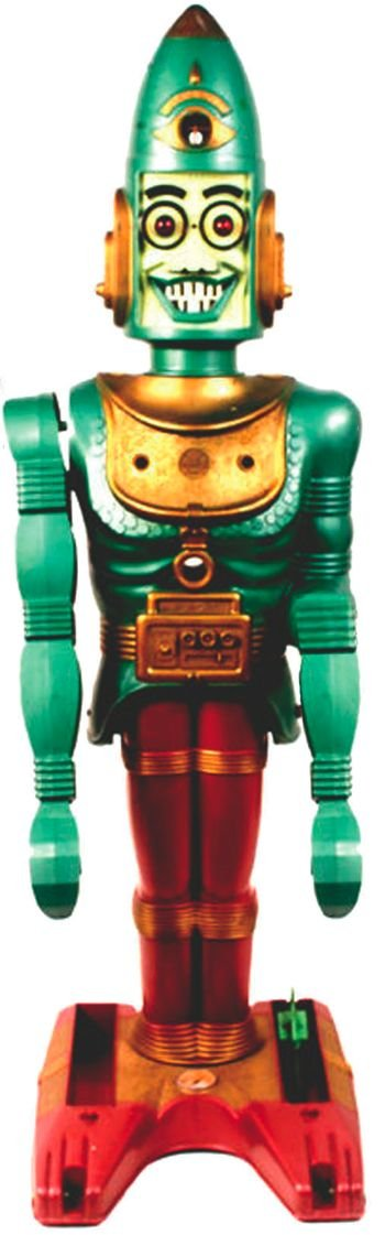 Big Loo, 3-foot tall toy robot from 1962